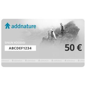 Addnature lahjakortti 50 €